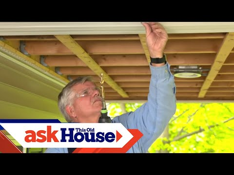 How to Hang a Porch Swing through Vinyl | Ask This Old House - UCUtWNBWbFL9We-cdXkiAuJA