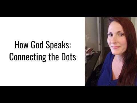 How God Speaks: Connecting the Dots. (Prison Ministry)