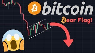 BITCOIN FALLING TO $8,863 SOON!!! | Bear Flag Emerges In The Bitcoin Price