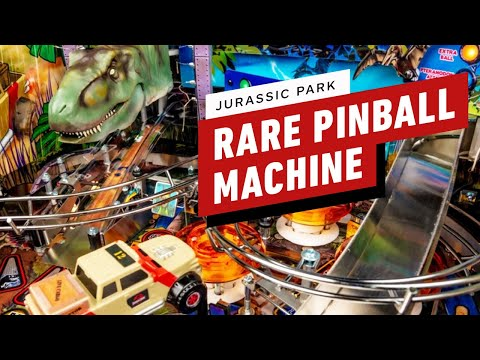You Probably Won't See This Rare Jurassic Park Pinball Machine in an Arcade