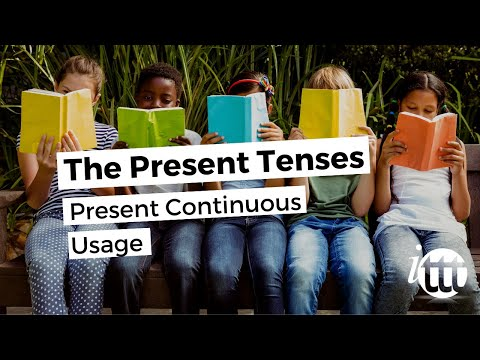 English Grammar - Present Continuous - Usage