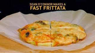 How to make a cheesy and fast frittata | Fast Food