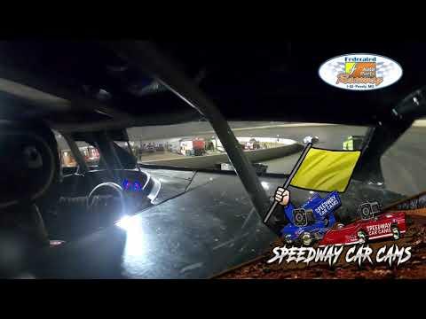 #52 Joe Rudy - DIRTcar Pro Modified - 7-24-2021 Federated Auto Parts I55 Raceway - In Car Camera - dirt track racing video image