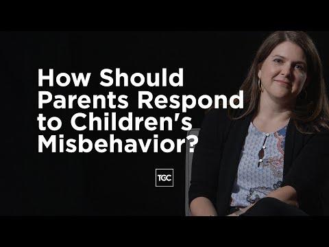Melissa Kruger on Responding to Children's Misbehavior