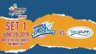 SET 1   Creamline vs. Balipure   June 29, 2019 #PVL2019 (Watch full game on iWant.ph)