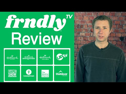 Frndly TV Review - Hallmark, Outdoor Channel + More for $6 a Month