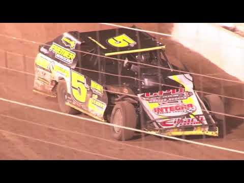 Perris Auto Speedway IMCA Modified Main Event 10-16-21 - dirt track racing video image