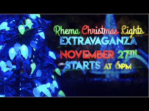 Rhema Video Announcements 11.10.19