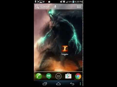 Tornado 3d 3 Live Wallpaper Video