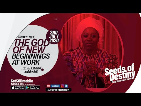 Dr Becky Paul-Enenche - SEEDS OF DESTINY  THURSDAY JULY 2, 2020