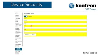 QIWI Software Toolkit Security