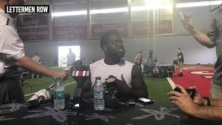 Robert Landers: Ohio State defensive lineman talks Buckeyes 2019 fall camp