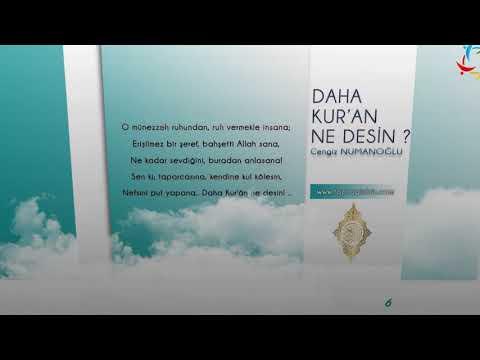 Daha Kur'an Ne Desin? - Cengiz NUMANOĞLU