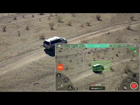 GDU O2 Sliding Arm Drone Waypoint and Follow Me Flight Test Review - UC90A4JdsSoFm1Okfu0DHTuQ