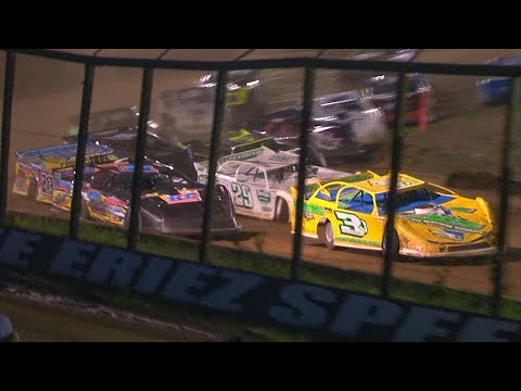 RUSH Crate Late Model Feature | Eriez Speedway | 6-27-21 - dirt track racing video image