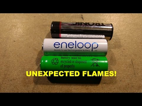 What's inside Eneloop and LIDL NiMh cells (fire, apparently) - UCtM5z2gkrGRuWd0JQMx76qA