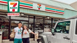 TRYING FOOD FROM 7-ELEVEN IN HAWAII