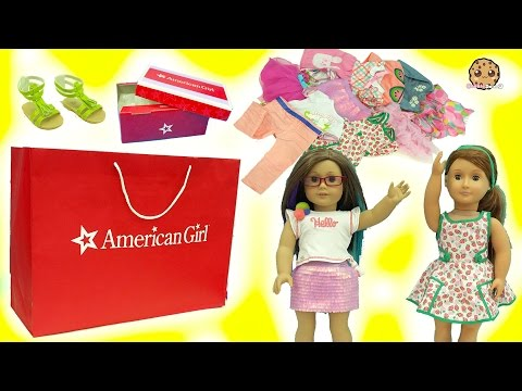 American Girl, Our Generation, My Life As Dolls Giant Clothing Haul Try On Video - UCelMeixAOTs2OQAAi9wU8-g