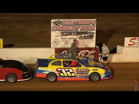 05/28/21 Mini Stock Feature Race - Oglethorpe Speedway Park - dirt track racing video image
