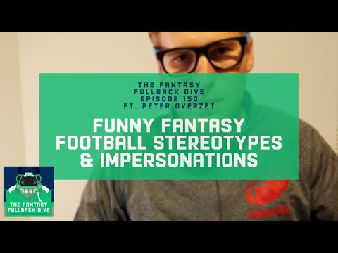 Fantasy Football Industry Stereotypes & Improv ft. Peter Overzet | DFS Podcast