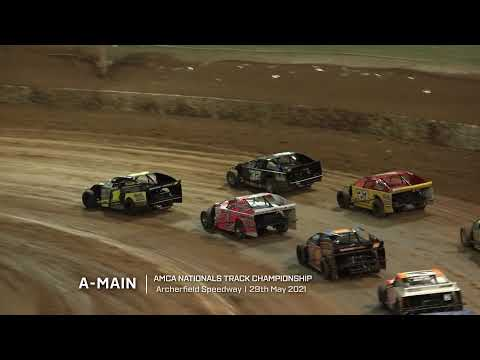 AMCA Nationals: Track Championship - A-Main - Archerfield Speedway - 29.05.2021 - dirt track racing video image