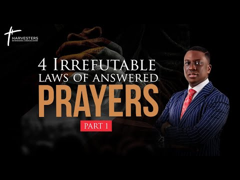 4 Irrefutable Laws Of Answered Prayers Part 1 (Sermon Only)  Pst Bolaji Idowu  12th September 2021