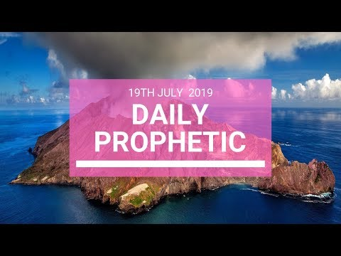 Daily Prophetic 19 July Word 5
