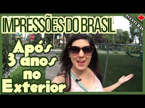 IMPRESSÕES do BRASIL após morar no EXTERIOR