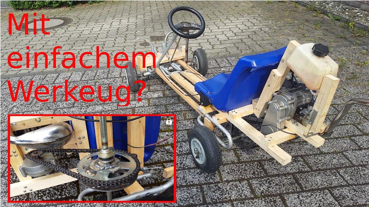 kettcar mit motor selber bauen 50km h 1080p ger. Black Bedroom Furniture Sets. Home Design Ideas