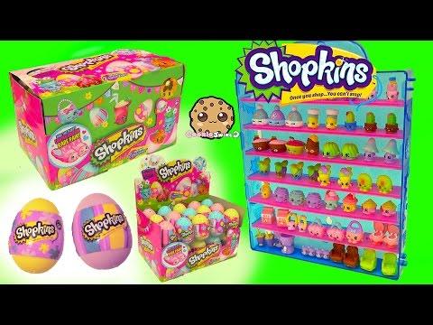 Surprise Easter Eggs Blind Bag Shopkins Season 4 Full Box  - Cookieswirlc Video - UCelMeixAOTs2OQAAi9wU8-g
