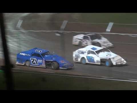 Legendary Midwest Mod Feature 1 Thursday - Cedar Lake Speedway 09/16/2021 - dirt track racing video image
