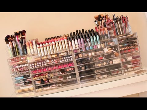 My Makeup Collection + Beauty Room! 2014 Carli Bybel - UC21yq4sq8uxTcfgIxxyE9VQ