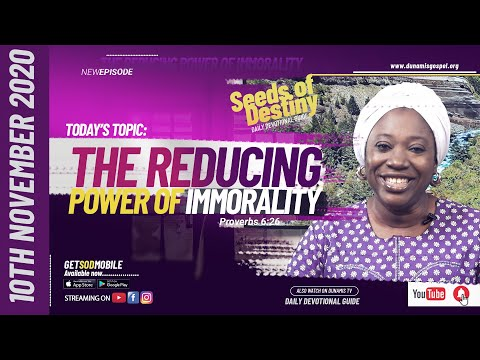 Dr Becky Paul-Enenche - SEEDS OF DESTINY - TUESDAY NOVEMBER 10, 2020