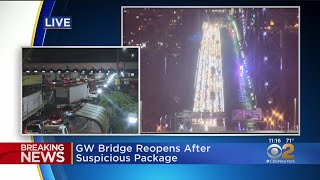 GWB Reopened After 'Suspicious Device' Shuts Down Traffic