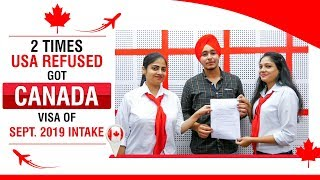 2 Times USA Refused Got Canada Student Visa