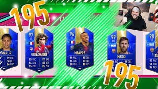 OMG HIGHEST RATED 195 DRAFT! - FIFA 19 ULTIMATE TEAM DRAFT
