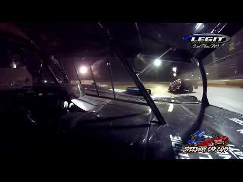 #91 Eddie Schwope - Cash Money Late Model - 5-29-2021 Legit Speedway Park - In Car Camera - dirt track racing video image