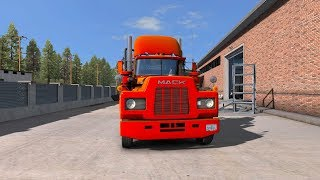 ATS Mack Delivered Company Cargo From Seattle To Bellingham