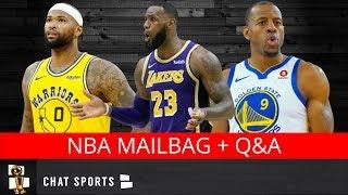 Demarcus Cousins' Future, NBA Trades, Andre Iguodala, Lakers & Playoffs | NBA Free Agency Mailbag