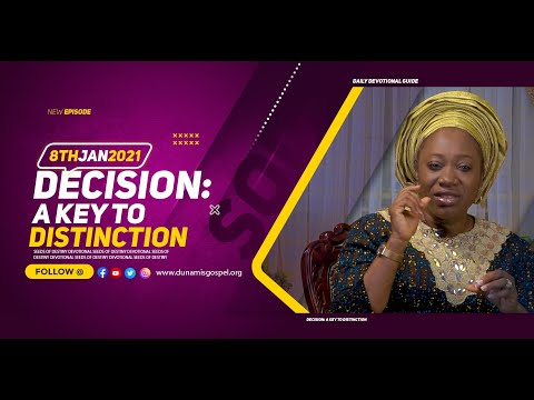 Dr Becky Paul-Enenche - SEEDS OF DESTINY  FRIDAY JANUARY 8, 2021