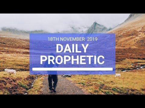 Daily Prophetic 18 November Word 2