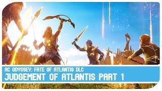 Judgment of Atlantis Part 1 DLC - Assassin's Creed Odyssey - Gameplay HD 1080p 60fps
