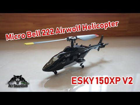 Whats new in ESKY 150X V2 Micro Bell 222 Airwolf Helicopter - UCsFctXdFnbeoKpLefdEloEQ