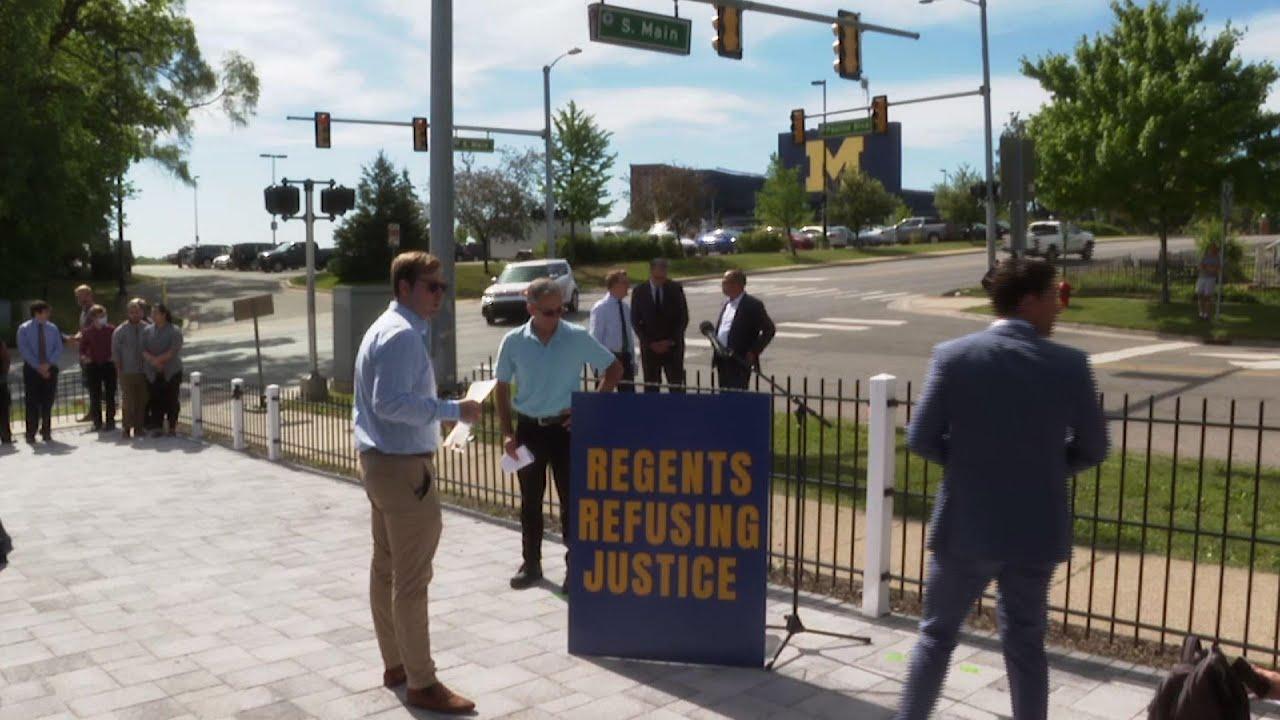 Athletes abused by doctor demand U Michigan probe