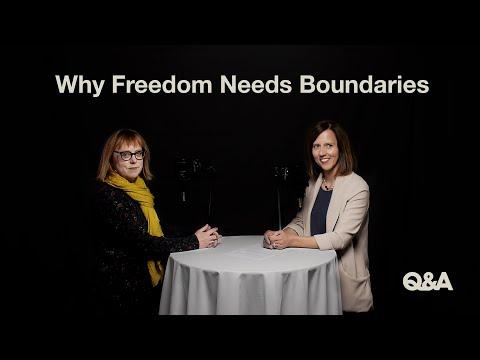 Why Freedom Needs Boundaries