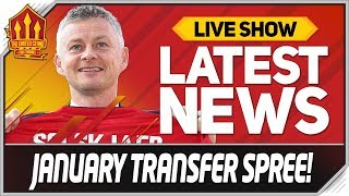 Solskjaer's Top 5 January Transfers! Man Utd Transfer News