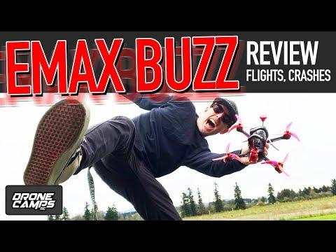 FREAKING AMAZING! - EMAX BUZZ - Freestyle Quad Review, Flights, & Crashes - UCwojJxGQ0SNeVV09mKlnonA