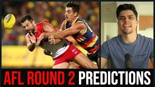 AFL Round 2 2019 Predictions