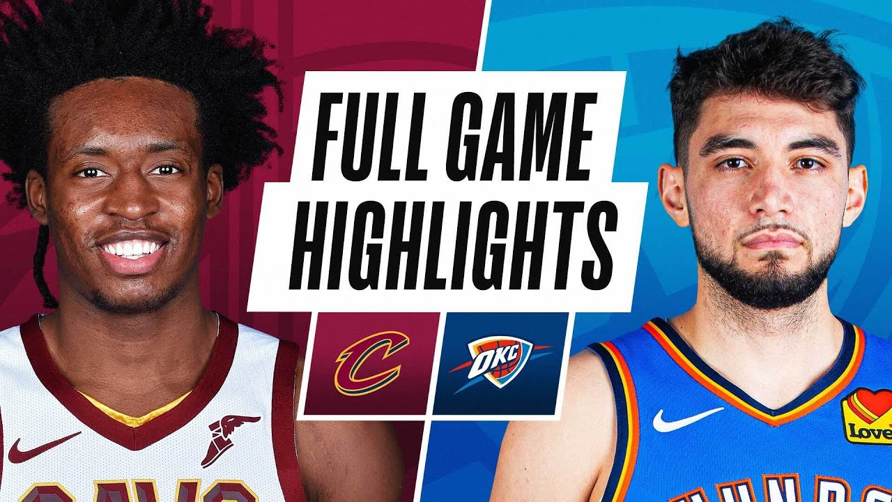 CAVALIERS at THUNDER | FULL GAME HIGHLIGHTS | April 8, 2021