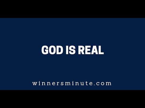God Is Real  The Winner's Minute With Mac Hammond